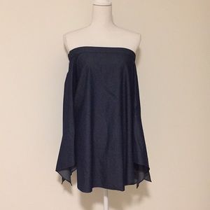 Tibi Chambray Off the Shoulder Tunic!!